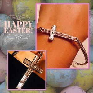 Jewelry - Crystal/SilverCross Bracelet